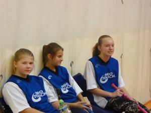 Okrskové kolo ve florbale  (dívky - 6. a 7. třída)